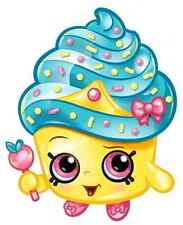 "Shopkins Cupcake Queen Iron On Transfer 5""x 6"" for Light Colored Fabric"