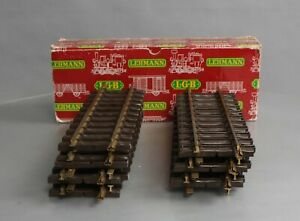 """LGB 1000 G Scale 12"""" Inch Straight Track (Pack of 12)/Box"""