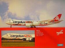 Herpa Wings 1:500 Boeing 747-8 Cargolux lx-vcm 529716 modellairport500