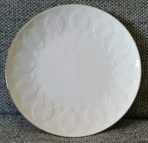 Rosenthal Lotus Weiss Platinrand Wahl a 19 cm Teller Dessert u 1
