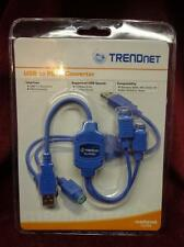 TRENDnet medianet TU-PS2 USB to PS/2 Converter Adapter, NEW