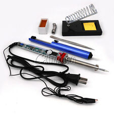 905 220V 60W Adjustable Electric Temperature Gun Welding Soldering Iron Tool kit