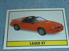 Sammelsticker Nr. 59 Bild Sticker Auto 2000 Laser XT Panini 1985