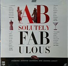 ABSOLUTELY FABULOUS - JENNIFER SAUNDERS J. LUMLEY - (3) LASER DISC SET - SEALED