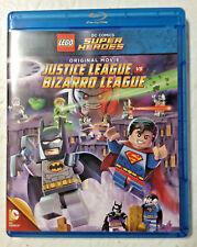 LEGO DC Comics Super Heroes: Justice League vs. Bizarro League (DVD, 2015) NEW