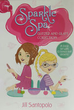 Sparkle Spa Glitter & Glam Collection 8 Books Plus Nail Stickers by Jill