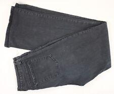 Tummy Tuck Jeans NYDJ Women's Black Denim Jeans Stretch Waist Size 12 (29x31)
