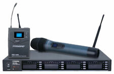 Pasgao Paw4000 584-608mhz 4 Channel Headset Wireless Microphone System