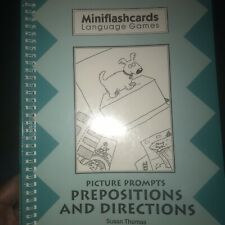 Mini Flash Cards Language Games Picture Prompts Prepositions Directions S Thomas