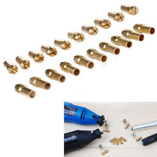 10 Sizes Brass Drill Chucks Collet Bits 0.8-3.2mm Shank For Rotary Tool