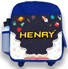 spaceship PE school add child/'s name Personalised Rocket ship sports kit bag