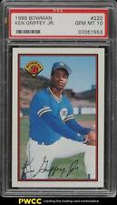1989 Bowman Ken Griffey Jr. ROOKIE RC #220 PSA 10 GEM MINT