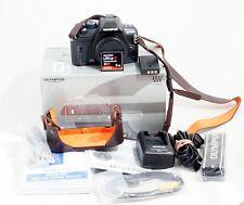 Olympus EVOLT E-420 10.0MP Digital SLR Camera Black Body ONLY 1K SHUTTER COUNT
