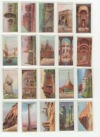 1926 John Player Wonders of the World Tobacco Cards Complete Set of 25