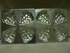 VINTAGE WILTON CAKE PANS/MOLDS 2 CHRISTMAS TREES 1990 / 1 BELL 1971  FREE SHIP