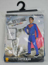 New SUPERMAN Justice League RUBIE'S Super Hero Dress UP Costume NWT Size L 12-14