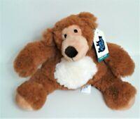 "Papa Bear Ultra Soft 8"" Cutie Bear Soft Toy Plush Comforter  Machine Wash. Tags"