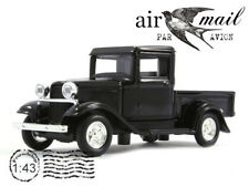 Ford Black Pickup Truck 1934 Model 1/43 Scale Collection Diecast Car YAT MING