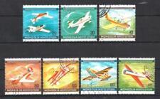 Avions Mongolie (53) série complète de 7 timbres oblitérés