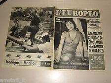 EUROPEO=1953/34=PIERRE MAC ORLAN=REMIGIO PAONE=RINA FORT=MARIO TOMASI FRATE0