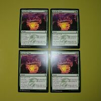 Feed the Clan x4 Khans of Tarkir 4x Playset Magic the Gathering MTG