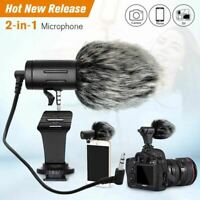 New Mic-06 Cardioid Shotgun Microphone MIC for DSLR Camera Smartphone Camcorder