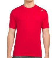 NWT REEBOK JOLT AUTHENTIC MEN'S RED CREW NECK SHORT SLEEVE T-SHIRT SIZE S M