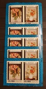 STATE OF OMAN ART PAINTINGS LOT 10 M/SHEETS IMPERFORED MNH