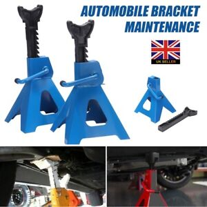HEAVY DUTY 3 Ton Axle Stands 3 Tonne Lifting Adjustable Car Van Jack Stand Pair