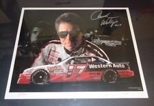 """Darrell Waltrip Autographed Signed """"Think Fast"""" Western Auto Print #104 of 400"""