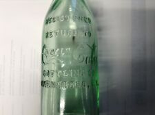 EXCELLENT OWENSBORO KENTUCKY CENTER SCRIPT STRAIGHT SIDED COCA COLA BOTTLE  ROOT
