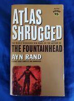 Atlas Shrugged by Ayn Rand Vintage 1963 Paperback