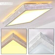 eckige Flur LED Decken Lampe Design Silber Luxus Wohn Bade Schlaf Zimmer Leuchte