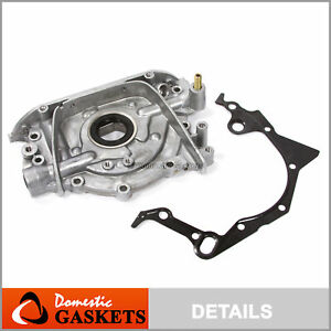 Fit 89-95 Suzuki Sidekick Esteem Geo Tracker 1.6L SOHC Oil Pump G16KV G16KC