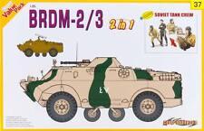 BRDM-2/3 (2 in 1) w/SOVIET TANK CREW (5) CYBER-HOBBY 1/35 PLASTIC KIT
