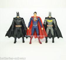 """Set of 3 pcs New Superhero Batman vs Superman 15cm 6"""" Action Figures Movie Toy"""