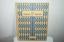 LIVRE EDITION ORIGINALE LE ROMAN DE RENART YSENGRIN DELAGRAVE VINTAGE 1954.