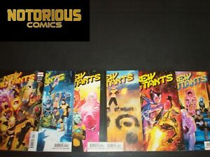 New Mutants 1 2 3 4 5 6 Complete Dawn of X Comic Lot Run Set Marvel Collection