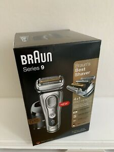 BRAUN SERIES 9 4 + 1 PRO HEAD Shaver 9390 Silver Head: NEW SEALED