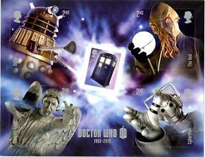 2013 GB Dr Who Mini Sheet MNH +FREE CARRIER