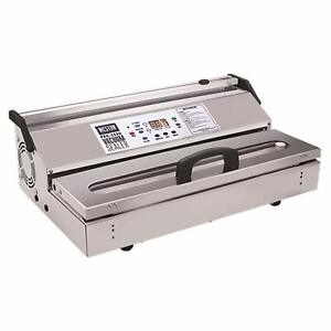 "Weston 65-0901-w Pro-3500 Commercial Grade Vacuum Sealer, 15"" bar, Stainless Ste"