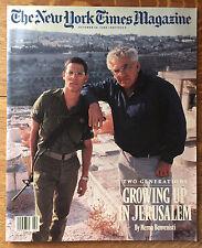 New York Times Magazine 1988 Jerusalem Anselm Kiefer Paulina Porizkova Dragana