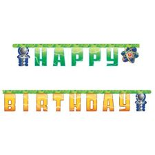 Mad Scientist Birthday Party Supplies  Banner
