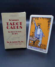 De Laurence Tarot Cards 20D w Box - 225 N Wabash Edition Rare Great Condition!