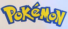 Pokemon Title Paper Die Cut Scrapbook Embellishment Cupcake Topper