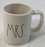 Rae Dunn MRS. Artisan Collection Vintage Ivory Mug By Magenta NEW