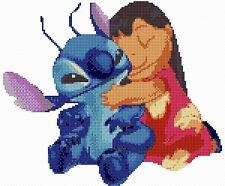 Lilo & Stitch Hug Counted Cross Stitch Kit TV/Film Characters  Disney