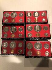 ✯Complete Run IKE Eisenhower Proof Set Collection ✯ 1973-1978 ✯ 36 GEM Coins ✯