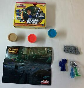 2011 PLAY DOH unused play kit ~ STAR WARS THE CLONE WARS