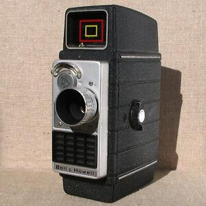 Vintage Bell & Howell Electric Eye 8mm cine camera